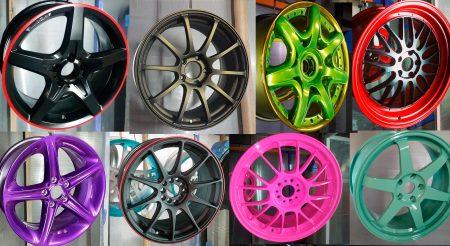 Оборудование для порошковой покраски автомобильных дисков